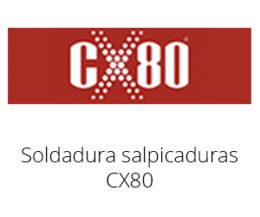 Soldadura salpicaduras CX80